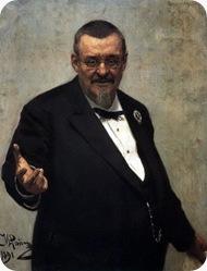 Портрет юриста В. Д. Спасовича. 1891
